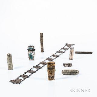 Nine Continental Vanity Items