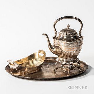 Three Pieces of Swedish Silver Tableware