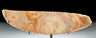 Huge Egyptian Pre-Dynastic Naqada III Flint Knife