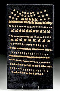 Achaemenid 22K+ Gold Repousse Appliques (282 pcs)