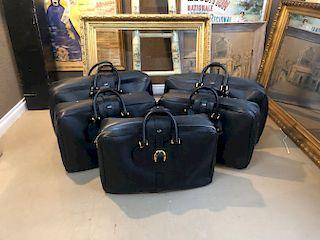 Five Italian Gucci (5) Travel Cases/Luggage