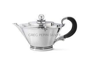 Large Georg Jensen Pyramid Teapot 600B