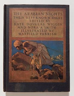 Maxfield Parrish illus. - Arabian Nights