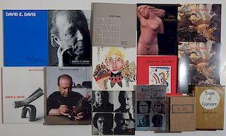 13 Books, booklets, etc. on art