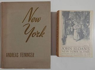 2 Books - Sloan, Feininger