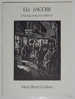 Mary Ryan Gallery- E. Jacobi Linoleum Block Prints