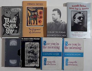 7 Books and 1 VHS on or by Kenneth Patchen