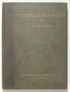 Etchings and Dry-Points by S. Tushingham