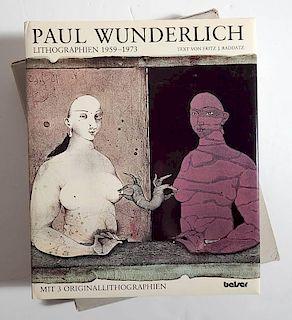 Raddatz - Paul Wunderlich Lithographien 1959-1973