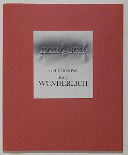 Homo Sum - 34 Oeuvres Par Paul Wunderlich