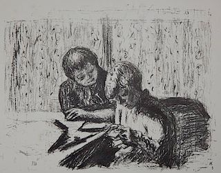 Pierre Bonnard lithograph