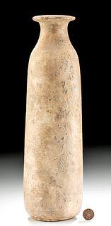 Tall Greek Archaic Alabaster Alabastron
