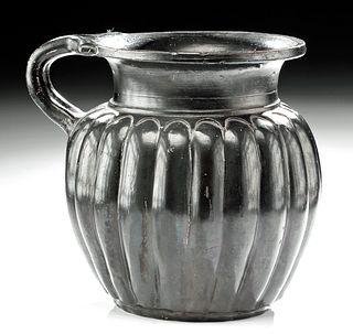 Impressive Greek Campanian Ribbed Mug
