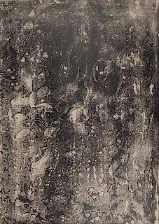 Jean Dubuffet lithograph