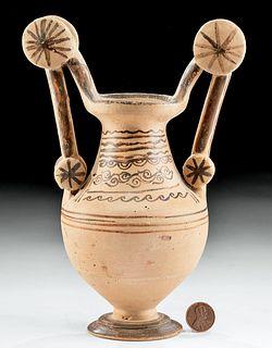 Published Greek Messapian Bichrome Trozella