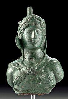 Roman Bronze Applique - Young Hercules