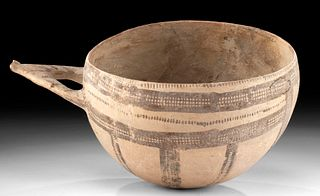 Holy Land Bronze Age Pottery Painted Dipper