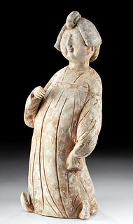 Chinese Tang Dynasty Standing Noblewoman, TL Tested