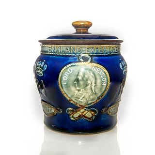 ROYAL DOULTON LORD NELSON LIDDED JAR