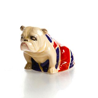 SM ROYAL DOULTON ANIMAL FIGURE, BULLDOG D5913