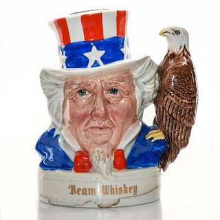 ROYAL DOULTON CHARACTER UNCLE SAM JIM BEAN