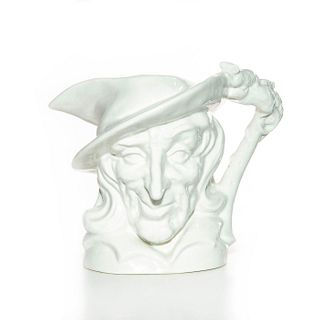 LG ROYAL DOULTON UNDECORATED CHARACTER JUG, PIED PIPER