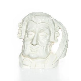 LG ROYAL DOULTON UNDECORATED CHARACTER JUG, THE LAWYER