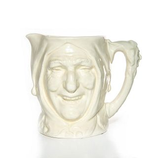 LG ROYAL DOULTON UNDECORATED CHARACTER JUG, TOUCHSTONE