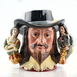 KING CHARLES I D6917 - LARGE - ROYAL DOULTON CHARACTER JUG