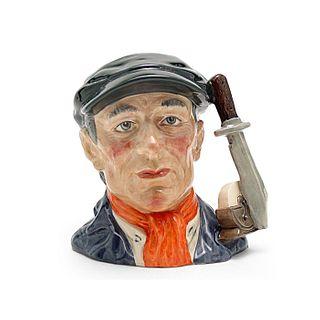 LITTLE MESTER D6819 - LARGE - ROYAL DOULTON CHARACTER JUG