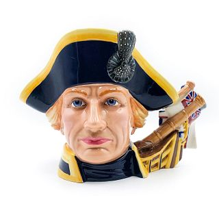 LORD HORATIO NELSON - LARGE - ROYAL DOULTON CHARACTER JUG