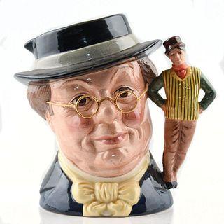 MR PICKWICK D6959 - LARGE - ROYAL DOULTON CHARACTER JUG