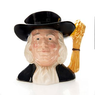 MR. QUAKER D6738 - LARGE - ROYAL DOULTON CHARACTER JUG