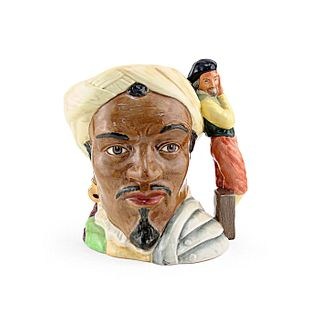 OTHELLO D6673 - LARGE - ROYAL DOULTON CHARACTER JUG
