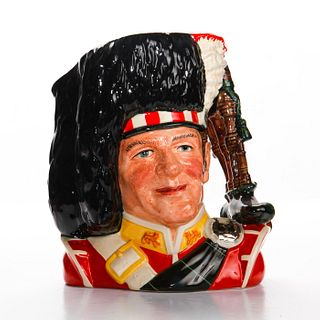 PIPER D6918 - LARGE - ROYAL DOULTON CHARACTER JUG