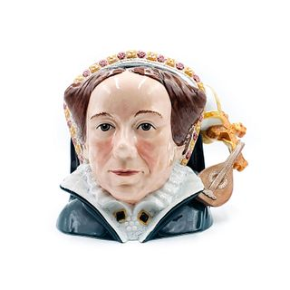 QUEEN MARY I D7188 - LARGE - ROYAL DOULTON CHARACTER JUG