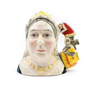 QUEEN VICTORIA - LARGE - ROYAL DOULTON CHARACTER JUG
