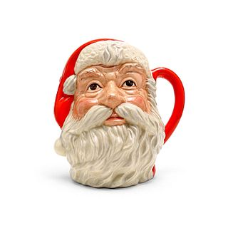 SANTA CLAUS PLAIN HANDLE D6704 - LARGE - ROYAL DOULTON CHARACTER JUG