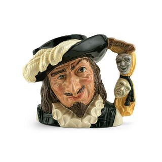 SCARAMOUCHE GLASS GUILD D6774 - LARGE - ROYAL DOULTON CHARACTER JUG