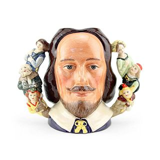 SHAKESPEARE D6933 (DOUBLE HANDLE) - LARGE - ROYAL DOULTON CHARACTER JUG
