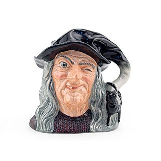 WITCH D6893 - LARGE - ROYAL DOULTON CHARACTER JUG