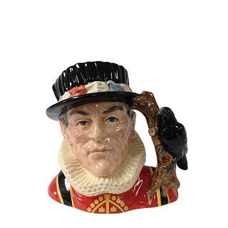 YEOMAN OF THE GUARD D6885 - LARGE - ROYAL DOULTON CHARACTER JUG