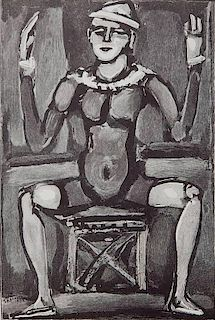 Georges Rouault wood engraving