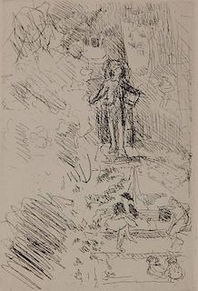 Edouard Vuillard etching