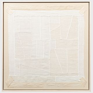 Pogagis Kovem: Linen Collages: Four Works