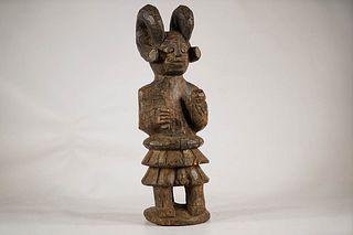 Yoruba Ikenga Warrior Figure
