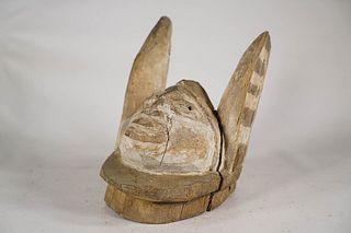 Yoruba Egungun Mask