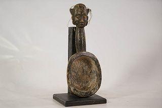 Igbo Divination Figural Spoon