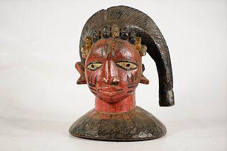 Yoruba Egungun Masquerade Dance Crest