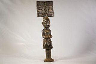 Yoruba Shango Wand
